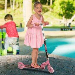New Aluminum Alloy Kick Scooter Adjustable Height Best Gifts
