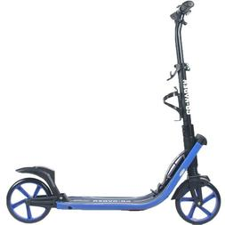 8 inch Large Wheel Kick/Push Scooter for Adults Teens Easy F