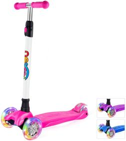 BELEEV Kick Scooter for Kids 3 Wheel Scooter for Toddlers Gi