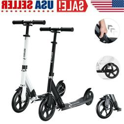 Folding Kick Scooter Portable Sports Adjustable Height Adult