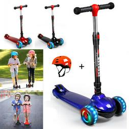 Folding Kick Scooter Sport Portable Adjustable Ride Exercise
