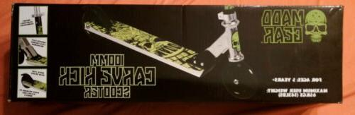 Madd Gear 100MM Carve Kick Scooter Alloy Deck Green or Red n