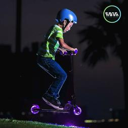 Yvolution - Neon Vector Kick Scooter With LED Wheels