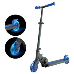 NEW! Yvolution Neon Vector kick Scooter PURPLE AND BLUE Dist