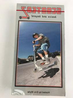 """Scooter VHS """"Scooterz""""VID3 Scooting Scoot Vintage Brand New"""