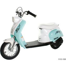 Surge Girls' 24V City Scooter, White/Teal for Girls by Dynac