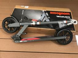 Mongoose Trace 180 Kick Scooter Folding Design Grey/Red New